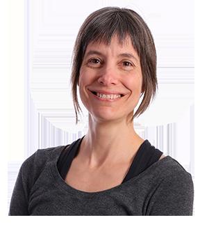 Dominique Tremblay, professeure de yoga