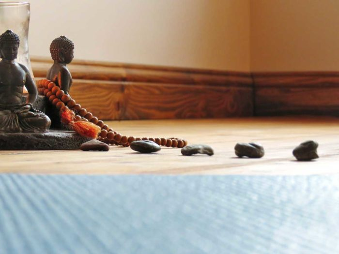 Bouddha dans un local de yoga