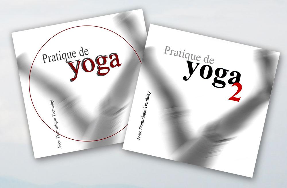 Disque 1 et 2 - pratique de yoga