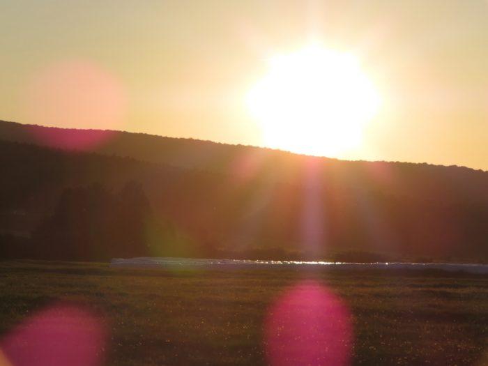 feu du soleil